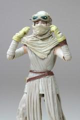 Rey (Jakku) custom headpiece - goggles up (StarAlien70) Tags: starwars staralien70 customise rey theforceawakens episodevii jakku goggles headscarf gloves actionfigure scavenger 118scale 375inch