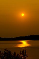 'Just Hanging' (Bob's Digital Eye) Tags: aug2018 bobsdigitaleye canon canonefs55250mmf456isstm flicker flickr golden laquintaessenza lake lakesunset orange outdoor reflection silhouette smokepollution sun sunset sunsetsoverwater t3i water