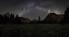 Milky Way Over Yosemite Valley (WJMcIntosh) Tags: yosemite yosemitevalley halfdome milkyway astrophotography yosemitefalls
