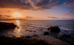 Galizia (franco nadalin) Tags: sea coast sky sunset rocks cliffs galicia spain costa do morte travel vacation ocean atlantic nature landscape view panorama