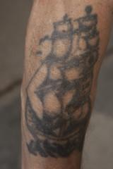 WOJTEK 06_3198 (VonMurr) Tags: tattoo raw rawtattoo brutal expressionism drawing primitiveart pride dziara man male polish pole наколка татуировка prison maurycygomulicki