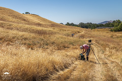 Preparing to Photograph (allentimothy1947) Tags: califonia landscape otherkeywords planantsvalley vacaville yoloarts artists barn buildings farm farmart gold grass hills painters ranch trails yoloart pleasantsvalleyroad
