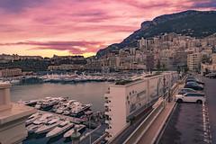 Monaco (www.alexandremalta.com) Tags: alexandremalta street port sea boat cars sunset landscape cityscape marina yacht europa monaco montecarlo