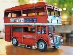London bus. (natureflower) Tags: london bus red