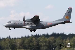 07 Kazakhstan Air Force CASA C-295M