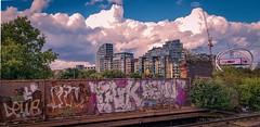 "Urban view (mdavies149) Tags: wandsworth london clouds england urban ""michael davies"" nikon d600 stations uk towns cities"
