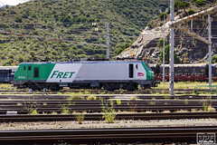 SNCF 427042 (Escursso) Tags: 427042 adif alstom electric fret portbou sncf uic estacion locomotive railway spain station