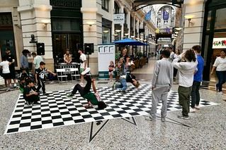 Breakdance at the Passage in The Hague