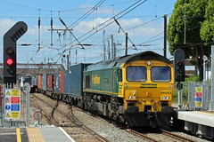 FTL 66 533, West Ealing, 21-06-18 (afc45014) Tags: westealing freightliner 66533 class66