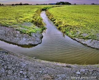 New Ditch,Groninger landschap,the Netherlands,Europe