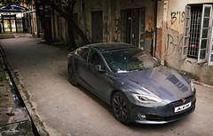 Tesla Model S P100D, Bangladesh. (Samee55) Tags: bangladesh dhaka carspotting carsofbangladesh carcandid carsspotted2018 automotivespotting automotivephoto automotiveimages canonphotography tesla model s p100d buet he lab automotivephotography eos kiss x8i