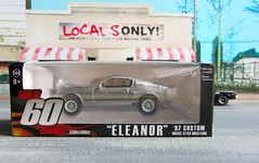 Gone In 60 Seconds Collectibles 'ELEANOR' '67 Custom Movie Star Ford Mustang By Greenlight Indianapolis 2016 : Diorama Gand Theft Auto San Andreas Game Blueberry County Locals Only Backdrop Print Out - 1 Of 15 (Kelvin64) Tags: gone in 60 seconds collectibles eleanor 67 custom movie star ford mustang by greenlight indianapolis 2016 diorama gand theft auto san andreas game blueberry county locals only backdrop print out