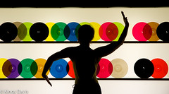 Shapes & Sounds (Flip the Script) Tags: silhouette dance dancer vinyl records fit fitness woman curves girls light mood colour color cinematic