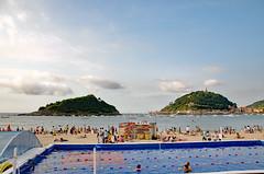 _DSC3977 (adrizufe) Tags: donostia beach ondarreta summer summer18 basquecountry sunnyday gipuzkoaederra gipuzkoa aplusphoto ilovenature landscape paisaje adrianzubia adrizufe