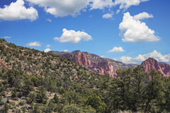 Kolob Canyon  6 (Largeguy1) Tags: approved kolob canyon blue sky clouds landscape mountains canon 5d mark ii