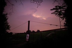 Do not cross: private property (Mi-Fo-to) Tags: storm temporale electric bolt fulmine paesaggio notturno night landscape cielo sky lightning 2018 italy italia summer estate private property proprietà privata