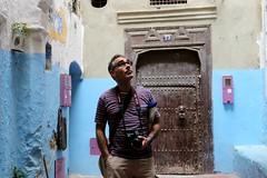 matchin' (daniel.virella) Tags: tanger morocco door alley medina blue notaselfie byzé picmonkey