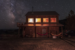 Contentment (Joe Eisel) Tags: milkyway galaxy lightpainting light paint painting spray oregon usa tamronsp2470mmf28divcusd wheeler pjranch sky milky way