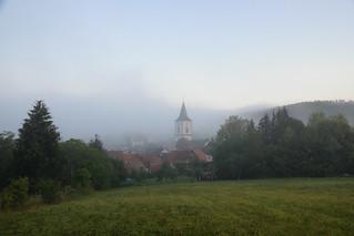 Réveil sous la brume