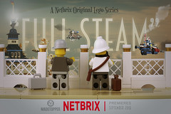 """Full Steam"" Netbrix Teaser 1 (Markus ""Madstopper"" Ronge) Tags: flugschiff steampunk legosteampunk madstopper lego toyphotography netbrix airship fullsteam"