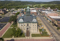 Courthouse (player_pleasure) Tags: millersburg drone mavic platinum rural ariel architecture flying courthouse