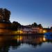 Crépuscule sur le port de Saint Goustan (2)
