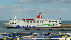 18 08 10 Stena Europe arriving Rosslare (34) (pghcork) Tags: stenaline ferry ferries carferry stenaeurope ireland wexford rosslare ships shipping