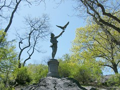 Art in Central Park (Stanley Zimny (Thank You for 32 Million views)) Tags: statue sculpture art newyork centralpark nyc