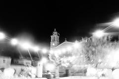Caimari August night lights (jaume 74) Tags: caimari light blackandwhitephotografie noirblanc streetlamps streetscuriosities street sonyrx100miii