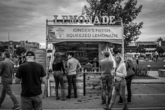 Des Moines Arts Festival (Phil Roeder) Tags: desmoines iowa desmoinesartsfestival art artists festival blackandwhite monochrome leica leicax2