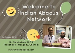 Welcome to Indian Abacus _ Mr. Sharfudeen, M C A Franchisee - Mangadu, Chennai (Ind-Abacus) Tags: abacus mental mind math maths arithmetic division q new invention online learning basheer ahamed coaching indian buy tutorial national franchise master tutor how do teacher training game control kids competition course entrepreneur student indianabacuscom