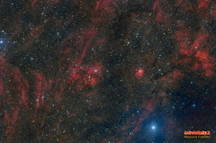 Sh2_115_Sh2_112_LHRGB (Maurizio Cabibbo) Tags: telescope skynight science space stars sky astronomy astrophotography astro nebula night universe long exposure