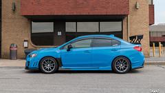 IMG_2365 (PedoJim) Tags: subaru wrx sti varis blue ivy nextmod turbo ej25 wing racecar lachute quebec montreal brembro bakemono track car