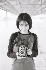 ILFORD DELTA 400 (25) (Waynegraphy) Tags: waynegraphy waynelee nikon nikonf3 50mmf18d 50mm ilford ilforddelta film 35mm malaysia girl ladies blackandwhite