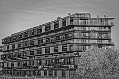 La Défense - Paris (Thierry Lejuez) Tags: architecture france paris bw ladefense paysage