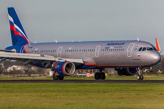 Airbus A321 Aeroflot VP-BKI MSN 7137