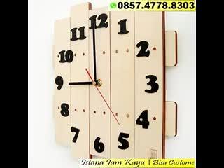 WA 0857.4778.8303, Jam Kayu Asli Indonesia, Jual Jam Dinding Kayu