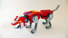 "LEGO Voltron 21311 (""grohl"") Tags: voltron lion golion 80s transformer lego ideas 21311 2018 action figure poseable"