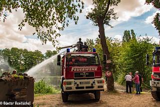Wasser für die Angelweiher