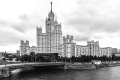 House on Kotelnicheskaya (gubanov77) Tags: moscow russia bw blackandwhite houseonkotelnicheskayaembankment kotelnicheskayaembankment домнакотельнической moscowphotography moscowskyscrapers moskvariver outdoor sovietarchitecture stalinistarchitecture streetscape street towers urban московскаяархитектура