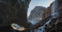 Frozen Arches (Darren Umbsaar) Tags: mountains mountain mount aster lake hike kananaskis alberta water flowers rockies rocky canada canadian snow ice waterfall creek forest