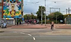 Nieuwe Eindpunten: Muiderpoort (Peter ( phonepics only) Eijkman) Tags: amsterdam city combino gvb terminus eindpunt tram transport trams tramtracks trolley rail rails streetcars strassenbahn nederland netherlands nederlandse noordholland holland