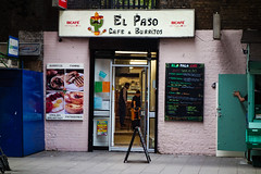 El Paso, Elephant & Castle (London Less Travelled) Tags: uk unitedkingdom england britain london southlondon elephantandcastle southwark elephant newkent road urban street city cafe restaurant elpaso mexican