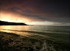 New Quay Sunset 2 (Mark Bradley) Tags: wales newquay sea ceredigion landscape seascape sunset