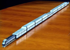 2016-11-22 17.44.45 (Transrail) Tags: eurotunnel kato cjm model train channeltunnel leshuttle passenger freight bobobo doubledeck singledeck loader loading coach carriage ngauge locomotive electric