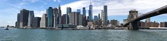 Lower Manhattan from Pier 1 Brooklyn (naebc28) Tags: buildings architecture iphone panorama newyork manhattan