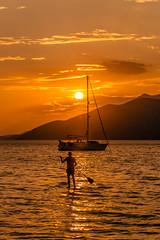Summertime (Vagelis Pikoulas) Tags: porto germeno greece summer sea seascape landscape beach sun sunset yacht boat man canon 6d tamron 70200mm vc august 2018