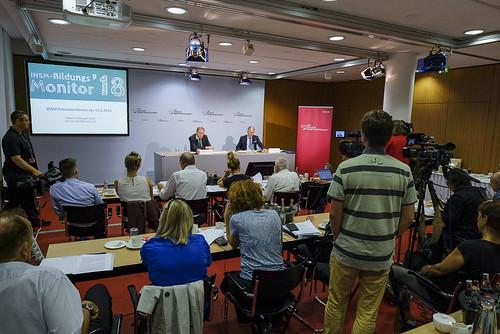 Vorstellung des Bildungsmonitors 2018 im Haus der Bundespressekonferenz