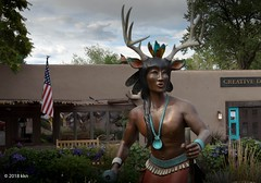 Warrior, too (nousku) Tags: santafe newmexico art tamron