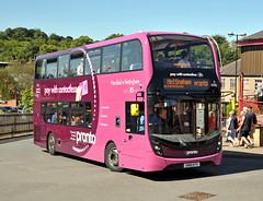 SN18KTV Stagecoach Mansfield 10981 (martin 65) Tags: pronto enviro e400 enviro400 mmc road transport public stagecoach group nottinghamshire mansfield scania adl